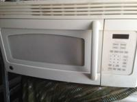I have a GE white over the range microwave in perfect