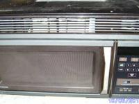 Used GE Microwave.  Mounts above stove. (if you don't