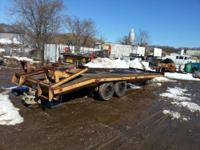 8-wheel, 18 bunch ability equipment trailer-24' incl 4'