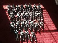 Hello. Up for sale is a large lot of Neca Gears of War