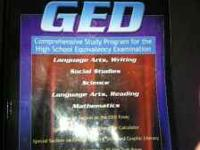 Selling my Complete GED Textbook Covers Language Arts -