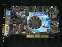 This is a good working AGP video card. If you need for