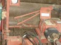 I have a used drum baler that rolls the smaller rolls.