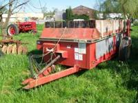 Gehl MS175 Manure Spreader Top Beater Polly Floor S/N