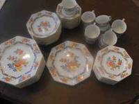 Beautiful china all in excellent condition. cups and