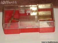 Gem Safety Razor Case and Blade Holder
