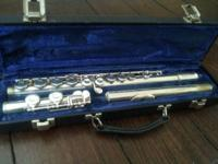Great Flute! Hasn't been played in years and requires a