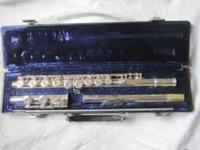 FOR SALE a beautifully cared for Gemeinhardt Flute 2SP.