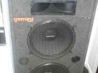 Gemini Dj Speakers For Sale This are great speakers for