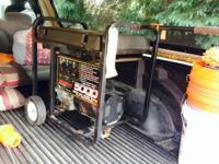 Up for sale is a USED Generac 5000 Watt generator. Max