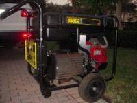 Generac GP Series Portable Generator. Never Used!