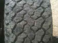 GenerL grabber All terrain tires and stock z71 16 inch