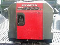 Honda Inverter EU 3000is, super quiet, electric start