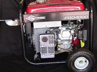 Generator, Briggs & Stratton PRO 4000 7 5hp Vanguard Engine for Sale