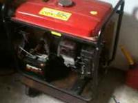 FOR SALE IS A GENERATOR 4,000 4500 WATT CHICAGO BRAND
