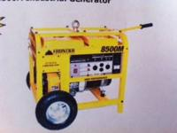 REDUCED PRICE! This generator has NEVER BEEN USED!