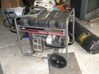 Storm Responder - Briggs and Stratton motor 5500 Watts