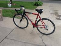 Genesis Road bike great for beginners. has gel