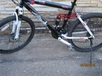 I'm selling my Genesis V2100 mountain bike. Its pretty