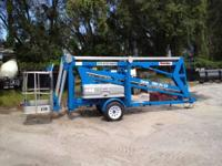 2000 GENIE TMZ34 BOOM LIFT FOR SALE! S/N T3400-283