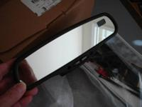 UP FOR SALE ONE GENTEX 177 AUTO DIMMING MIRROR WITH