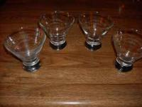Set of 4 Gentleman Jack glasses, never used $6. Set of