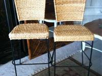 Barstools - Collection of 2 for $139. We have 6