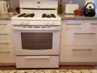 Kenmore Gas Range White bought new in 2011. Works