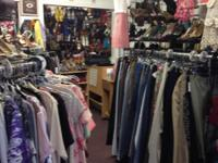 Location 6530 E.22nd St. Gently used clothing store