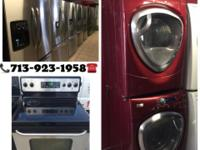We sell gently used stoves, refrigerators and