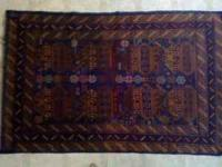 DESIGN: War Rug TYPE: Balutch RUG #: 106 INV # : 16916