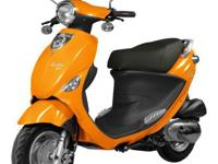 Excellent 50cc moped from Genuine. Over 100MPG, comes