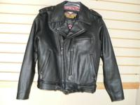Womens genuine Harley Davidson heavy duty all leather