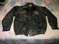 Genuine Leather 60th Anniversary Bombers Patchwork