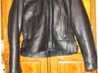 Very nice MOB Classic X4 Colletcion Leather Jacket.