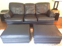 arge Couch, Chair, and Two ottomans. So comfortable!