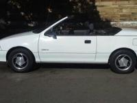 1991 GEO METRO CONVERTIBLE, LIMITED EDITION, A-C, 5