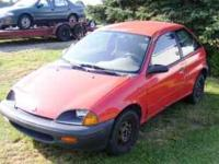 I have a couple of Geo Metro s that I have parted out.