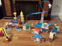 I am selling my sons Geo Trax set.  It would make a