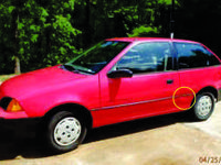 1991 Geo Metro 1.0 litre 3cylinder with 5 rate. I