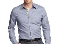Take it from the top in this Geoffrey Beene shirt,