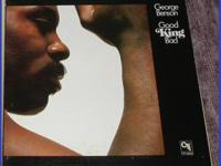 George Benson 'Good King Bad' LP Record Album -