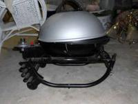 Like new, only used once, Portable Propane Grill $100