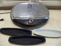 GEORGE FOREMAN GRILL, 9 SERVING SIZE, GREAT CONDITION,