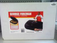 George Foreman Grills- 36 sq in grill $19.99 Variable