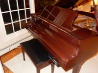 George Steck Baby Grand - Mahogany, not a scratch on