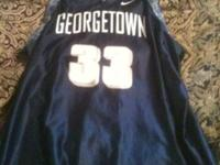 I have a very nice Georgetown #33 Nike jersey sz xl.