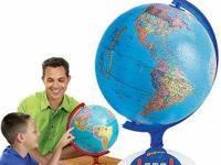 Geosafari Talking Globe -.  Where on the planet? Where