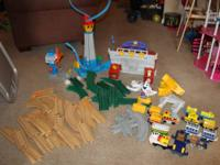 Great deal of Geotrax trains/tracks for sale which