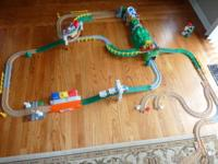 GeoTrax Train Set includes multiple sets combined.